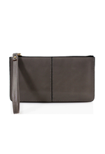 Dark Grey Wristlet Purse