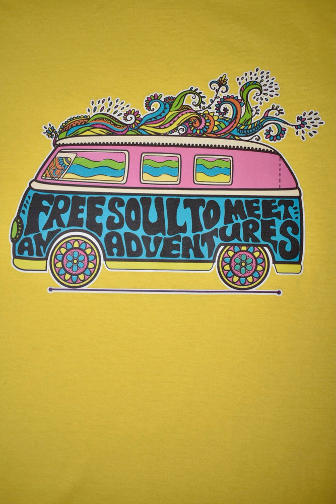 "Vibrant Yellow ""Campervan"" T-shirt"