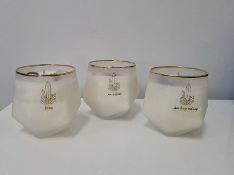 Scented Crystal Candles