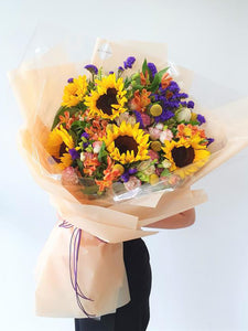 Debut Sunflower - Designer Bouquet - K. FLOWER