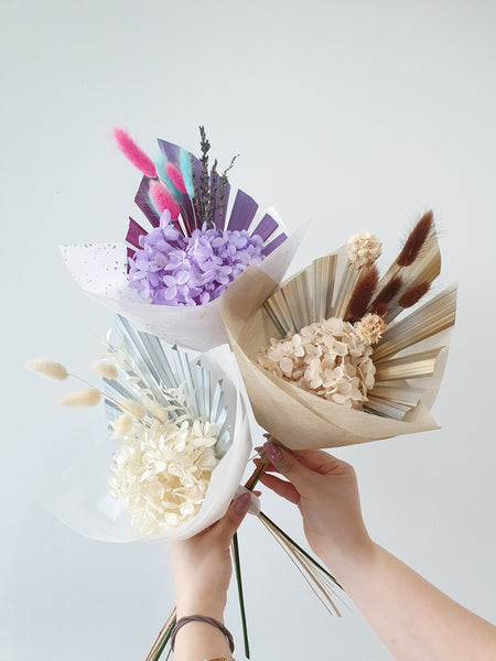 Mini Preserved Flower Bouquet