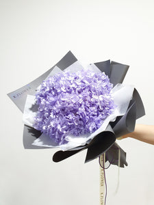 Eternity Hydrangea Bouquet, Preserved