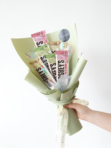 Hershey Bar Bouquet