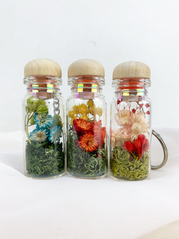 Preserved Flower Keychain - K. FLOWER