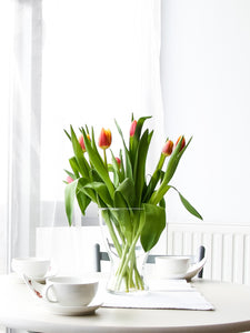 Tulip Glass Vase - K. FLOWER
