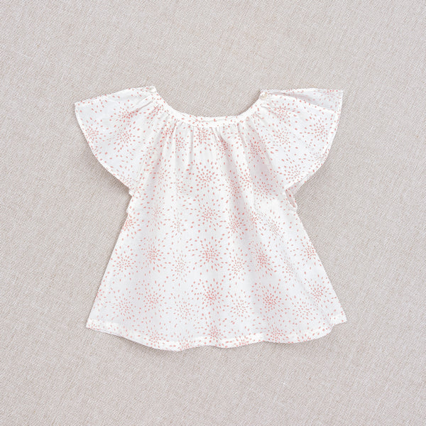 Carmensita top nanu - riz en fleur rose