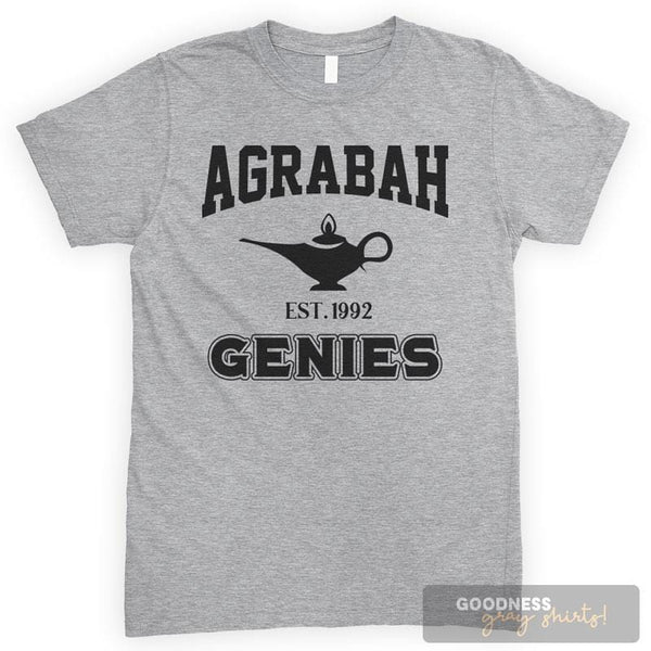 Agrabah Genies Heather Gray Unisex T-shirt