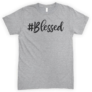 Blessed Heather Gray Unisex T-shirt
