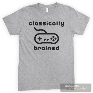 Classically Trained Heather Gray Unisex T-shirt