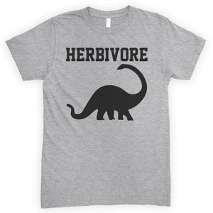 Herbivore Heather Gray Unisex T-shirt