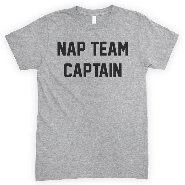 Nap Team Captain Heather Gray Unisex T-shirt
