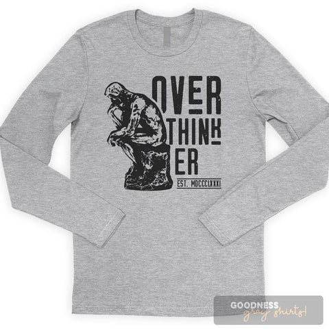 Over-Thinker Long Sleeve T-shirt