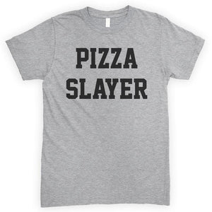 Pizza Slayer Heather Gray Unisex T-shirt