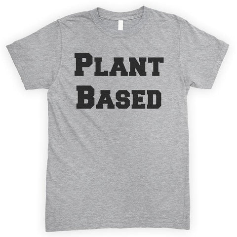 Plant Based Heather Gray Unisex T-shirt