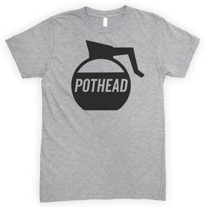 Pot Head Heather Gray Unisex T-shirt