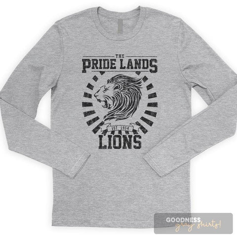 The Pride Lands Lions Long Sleeve T-shirt