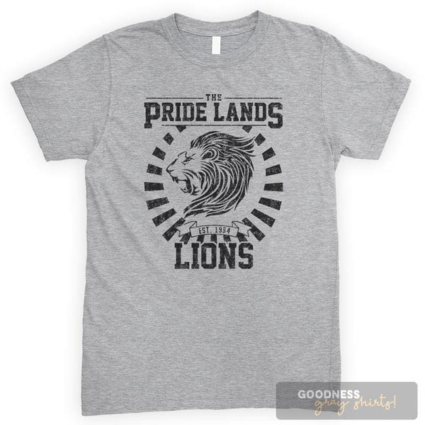 The Pride Lands Lions Heather Gray Unisex T-shirt
