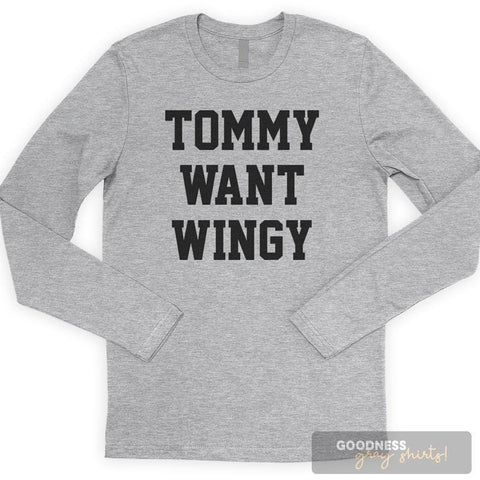 Tommy Want Wingy Long Sleeve T-shirt