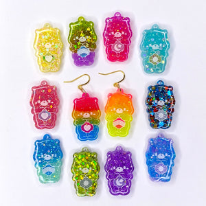 Mystery Carebear Earrings