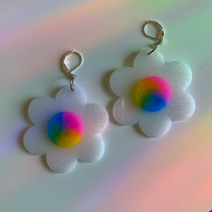 Rainbow Flower ~  *MADE 2 ORDER*