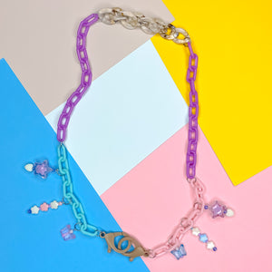 Pastel Party Mixed Mask Chain
