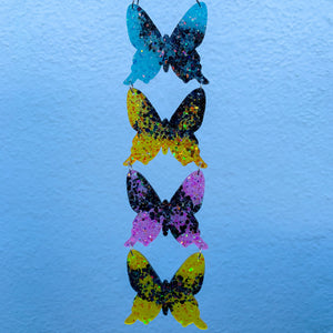Candy Colors Butterfly Wall Hanging