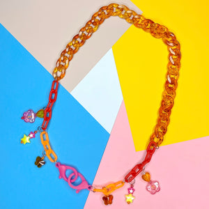 Amber Baby Mixed Mask Chain