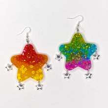 Load image into Gallery viewer, Rainbow Mix Bubble Star **VDAY**