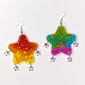 Rainbow Mix Bubble Star **VDAY**