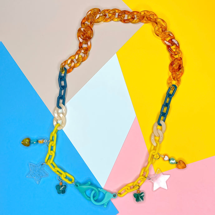 Star Power Mixed Mask Chain