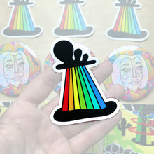 Load image into Gallery viewer, Rainbow Sticker