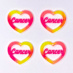 Tie Dye Cancer Zodiac Hearts