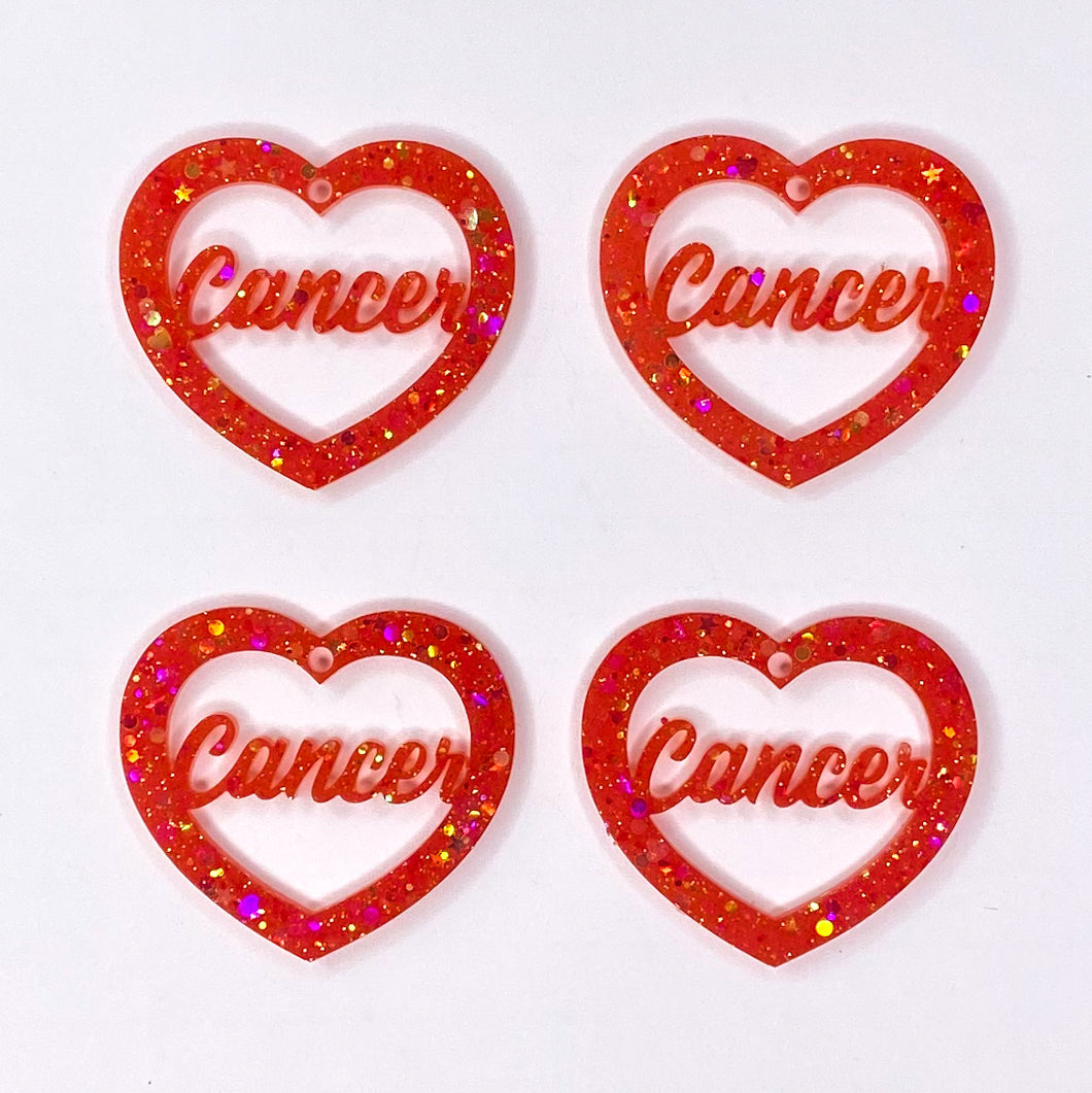 Cancer Zodiac Hearts **SECONDS**