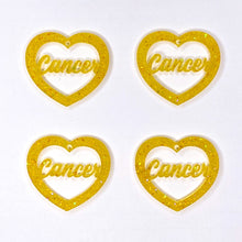 Load image into Gallery viewer, Cancer Zodiac Hearts