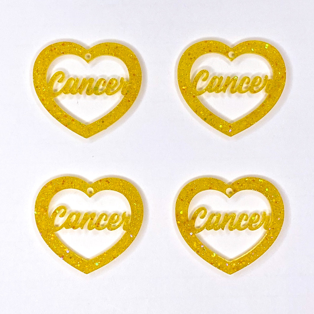 Cancer Zodiac Hearts