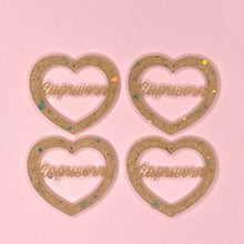 Load image into Gallery viewer, Capricorn Zodiac Hearts **SECONDS**