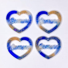 Load image into Gallery viewer, Gemini Zodiac Hearts **SECONDS**
