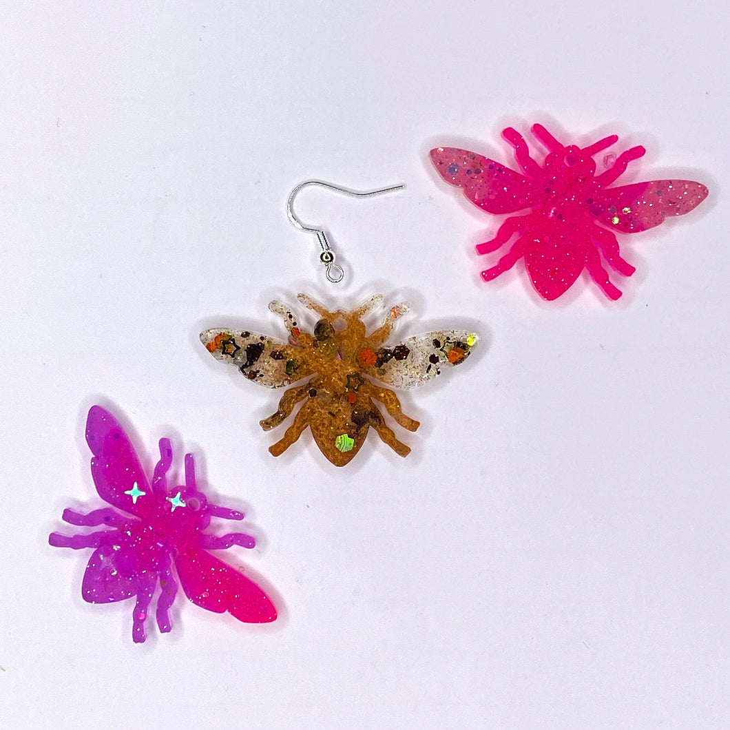 Mystery Bee Earrings **SECONDS**