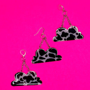 Cow Print Clouds ** MADE 2 ORDER **