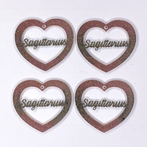 Sagittarius Zodiac Hearts **SECONDS**