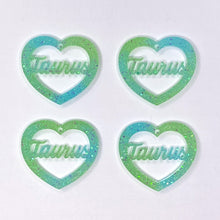 Load image into Gallery viewer, Taurus Zodiac Hearts