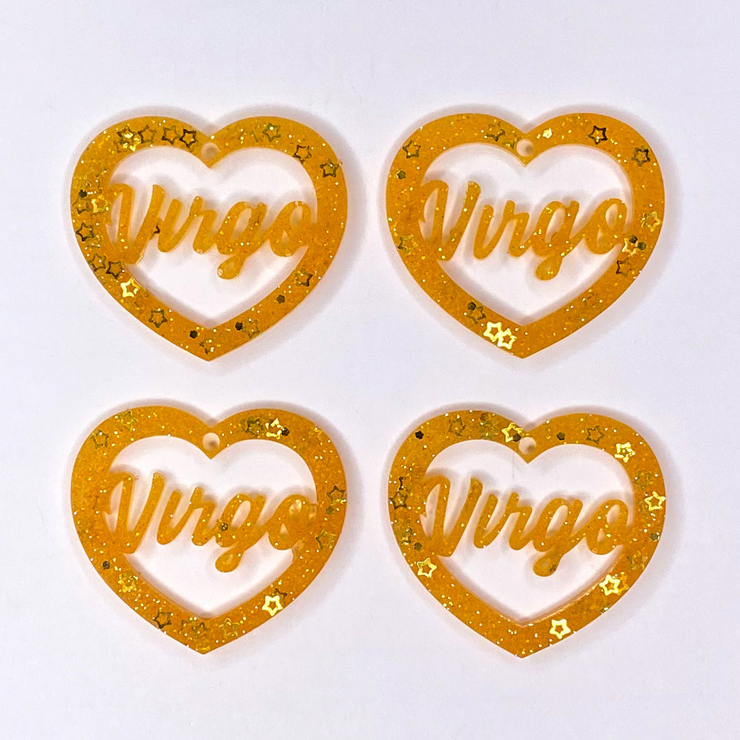 Virgo Zodiac Hearts **SECONDS**