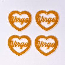Load image into Gallery viewer, Virgo Zodiac Hearts
