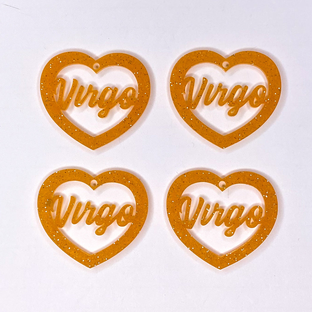 Virgo Zodiac Hearts