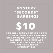 "Load image into Gallery viewer, Mystery Earrings ""SECONDS"""