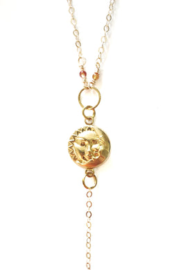 Celestial Lovers Necklace - Luni