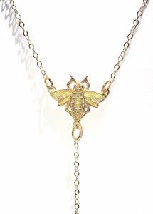 Honeybee Necklace - Luni