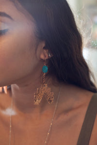 Sun Ascension Earrings - Luni
