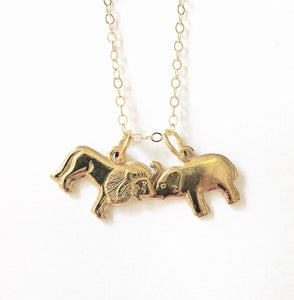 Animal Lovers Charm Necklace - Luni