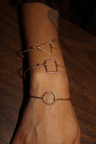 Shapes Hook Bangle